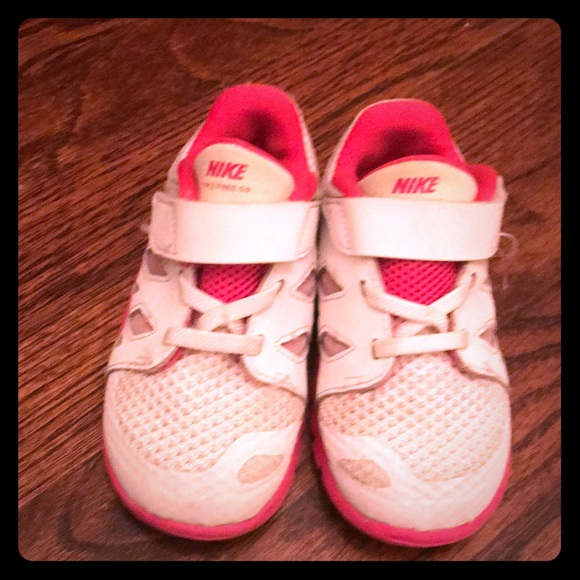 Toddler girl Nike sneakers size 8